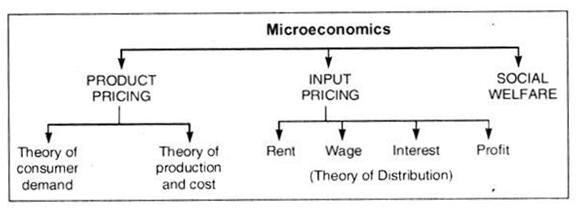 High level diagram of microeconomics